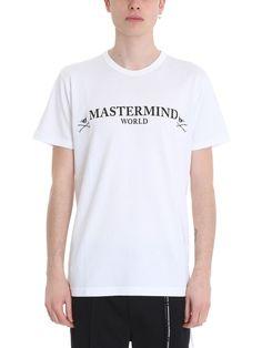 元317.864. MASTERMIND JAPAN Top Logo White Cotton T-Shirt #mastermindjapan #top #t-shirt #cotton #clothing Mastermind Japan, Japan Logo, White Cotton T Shirts, Skull Logo, Flannel Shirt, Black Hoodie, Sweatshirts, Clothing, Mens Tops