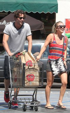 <p>Cuoco and Sweeting appeared to already be sharing a life together as they hit the grocery store together in L.A.</p>