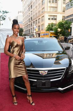 """Kelly Rowland Photos Photos - Singer Kelly Rowland attends as Cadillac celebrates the grand opening of """"Cadillac House"""" on June 2016 in New York City. - Cadillac Celebrates the Grand Opening of 'Cadillac House - New York' Celebrity Outfits, Celebrity Style, Kelly Rowland Style, Looks Chic, Sexy Skirt, Celebs, Celebrities, Red Carpet Fashion, Shabby Chic"""