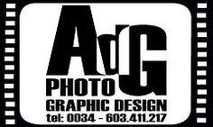 AdG Logo B/W von AdG Photo Graphic Design