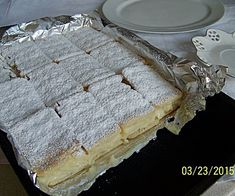 Napoleonka na krakersach Pie, Bread, Food, Pinkie Pie, Pastel, Tart, Fruit Cakes, Brot, Eten