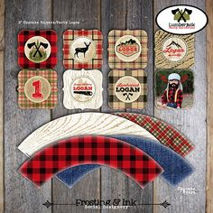 Lumberjack Party Scavenger Hunt Camping Party by frostingandink