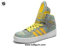 Girl s Adidas X Jeremy Scott Big Tongue Shoes Orange Fashion Shoes Shop