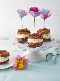 Backe ,backe Kuchen: Mini Bienenstich-Muffins