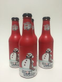 Cerveza Monfragüe Snow Daddy , estilo Winter Ale.