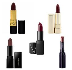 oxblood lipstick!  i will definitely be buying me a lipstick and rocking it with my other favorite lippies for the holidays.