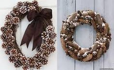 40 Creative Pinecone Crafts For Your Holiday Decorations Tree Centerpieces, Christmas Centerpieces, Christmas Decorations, Pine Cone Christmas Tree, Christmas Wreaths, Christmas Ornaments, Scented Pinecones, Pinecone Ornaments, Pinecone Decor