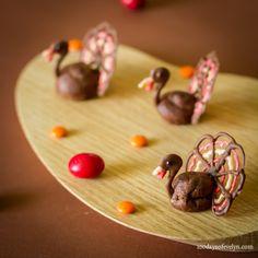 Chocolate Turkey Profiteroles