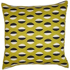 Sanderson Ellipse Cushion, love the dots.