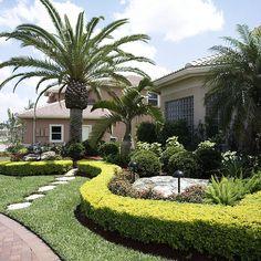 Landscape Manicure Garden in the front | JC Enterprise Services | Flickr