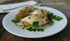 Calamari ripieni cotti in padella, sono un secondo veloce e facile da preparare ma molto, molto gustoso! Vedrete che buoni!