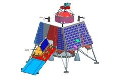 """The Chandrayaan-2 orbiter will circle the moon and provide information about its surface, ISRO stated. """"The payloads will collect scientific information on lunar topography, mineralogy, elemental abundance, lunar exosphere and signatures of hydroxyl and water-ice,"""" ISRO said on its website. The mission will also send a small, 20-kilogram (44 lbs.), six-wheeled rover to the surface; the rover will move semi-autonomously, examining the lunar regolith's composition."""