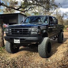 Classic Black Ford