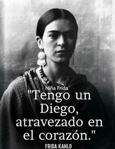 Tengo un Diego atravesado en el corazón.