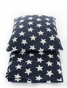 Geschmackvolle Sternchenbettwäsche für groß und klein in vier tollen Farben.