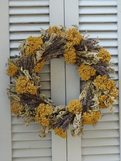 Kitchen Herb Wreath is a real eye opener as a decorating accent pieces for Kitchen or Dining areas.  Its a unique gift for a cook in your life!
