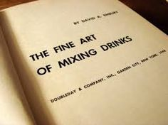 Image result for typographic cocktail books