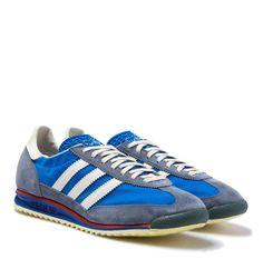 Adidas Originals 72 VIN Blue, Red & White Trainers