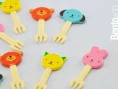 Animal picks to skewer your food with. $4.00