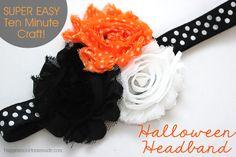 10 Minute Craft: Halloween Headband - Happiness is Homemade