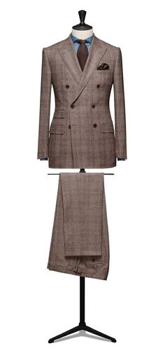 Bespoke Tailored Double Breasted Suit by Tailor Made London