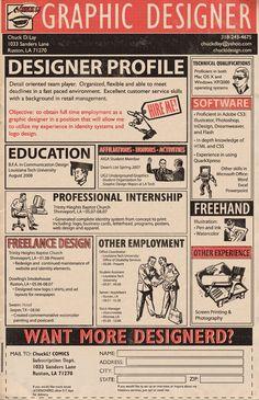 Resume, Creative cv and Resume design on Pinterest