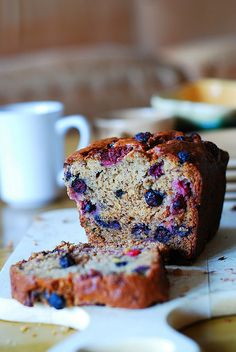 Strawberry banana bread, with blueberries by JuliasAlbum.com, via Flickr