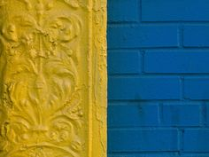 Yellow | Blue by Michelle Thompson