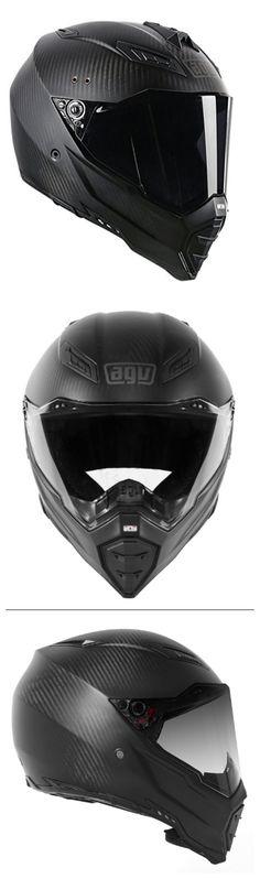 2 words come to mind when I think of carbon fiber motorcycle helmets: Lightweight and awesome. Why aren't there more of these sexy helmet designs available? Custom Motorcycle Helmets, Motorcycle Gear, Motorcycle Accessories, Carbon Fiber Motorcycle Helmet, Motorcycle Helmet Design, Agv Helmets, Helmet Armor, Helmet Paint, Bike Shed