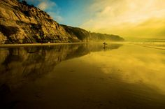 Sunset at Black's Beach - 12x18 16x24 20x30 24x36 Metal Print - Landscape Photography - Modern Art Wall Art - Nature