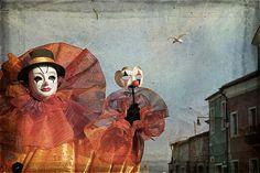 Venetian Carnival - Proudly Clown by Zina Zinchik #carnival