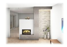 Kachelofen Modern Home Fireplace, Modern Fireplace, Bungalow, Living Spaces, Home Decor, Inspiration, Living Room With Fireplace, Fireplace Set, Houses