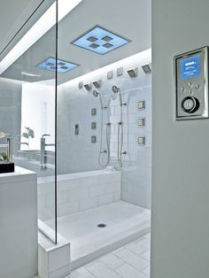 Bathroom Design and Remodeling Trends : Home Improvement : DIY Network Steam Showers Bathroom, Bathroom Spa, Bathroom Layout, Modern Bathroom, Small Bathroom, Master Bathroom, Bathroom Canvas, Kohler Bathroom, Design Bathroom