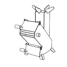 可調式汽門火箭爐(大)規格簡圖