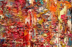 "Intuition   30"" x 24"" acrylic on canvas   2015 adamcohenstudio.com"