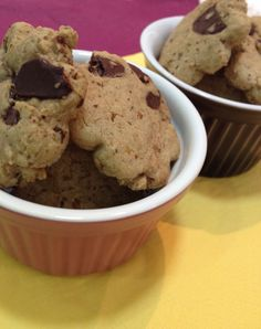 Cookie fit sem glúten e sem lactose - com chocolate 70% cacau.