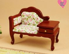 Dolls House Miniature Telephont Chair
