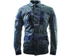 b645420a884b7 MA.Strum Field Outershirt Jacket Dazzle Camo Green - Terraces Menswear