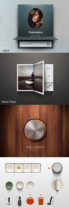 Designs that feel physical - #UI