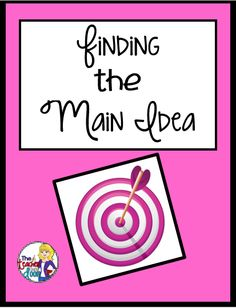 Read about how I teach Main idea using informational text.