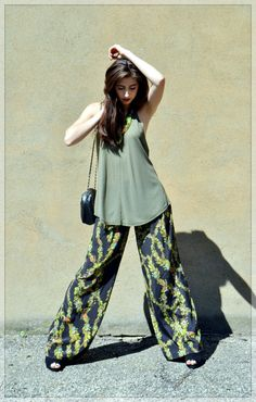{Autumn Leaves} LOVE these pants. #fall #boho #nature