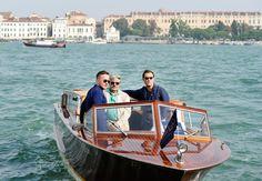 Jude Law, Giancarlo Giannini e Jake Scott