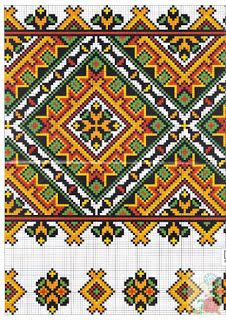 Cross stitching , Etamin and crafts: Traditional cross stitch Pattern Russian Cross Stitch, Just Cross Stitch, Cross Stitch Borders, Cross Stitch Kits, Cross Stitch Charts, Cross Stitching, Cross Stitch Patterns, Folk Embroidery, Cross Stitch Embroidery