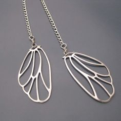Skeleton leaf necklace $22