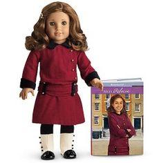 American Girl Doll Rebecca Rubin has Honey Brown, Curly, Long Hair with Hazel Green Eyes - WISH LIST