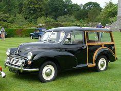 Vintage Car - Morris Minor Traveller [NCG 141] 110710 Leighton Hall