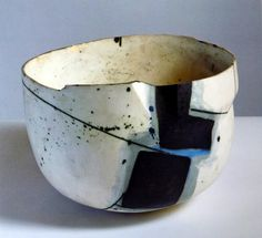 Paintings in the form of bowls and bottles; Gordon Baldwin