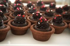 Double Chocolate Cheese Tart ~ Recipes