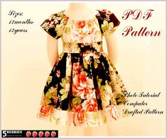 free patterns for sewing | Toddler Dress Sewing Pattern – Catalog of Patterns
