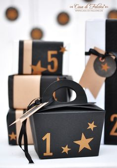calendrier de l'avent, DIY Advent Calendar with Stars